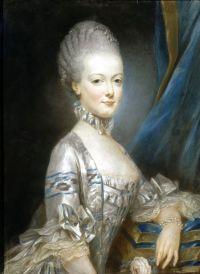 Marie Antoinette by Joseph Ducreux (1769)