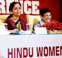 Nirmala Sitharaman & Kiran Bedi