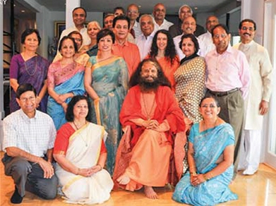 Swami Chidananda Saraswati and scholar contributors to the EH