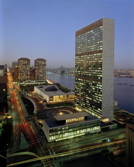 United Nations HQ New York