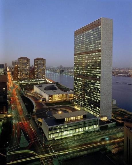 United Nations HQ New York