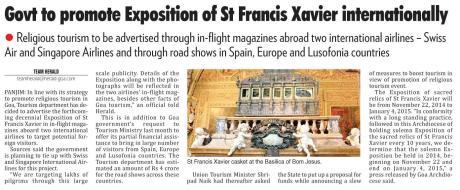 Deccan Herald Newspaper, Goa