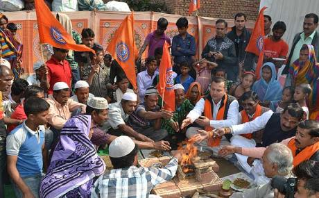 Muslim to Hindu in Agra
