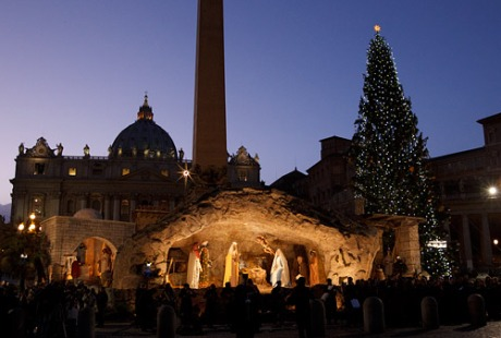Nativity Display Vatican 2014