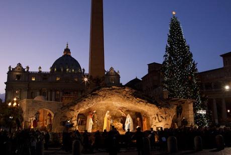 Nativity Display Vatican 2014