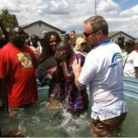 Steve Stewart in Uganda