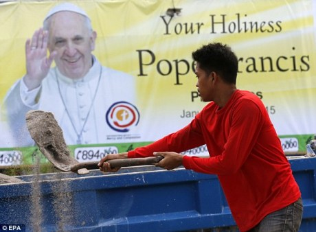 Pope Francis Manila
