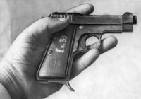 Beretta 9 mm pistol owned by Godse
