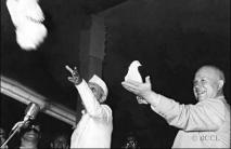 Jawaharlal Nehru & Nikita Khrushchev