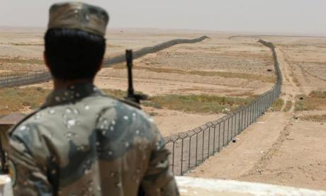 Saudi Arabia-Iraq Border Fence