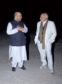 Amit Shah & Narendra Modi