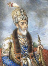 Bahadur Shah II (r. 1837-58) last Mughal emperor of India