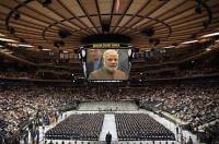 Narendra Modi at Madison Square Garden, New York (September 28, 2014)