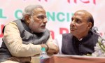 Narendra Modi & Rajnath Singh