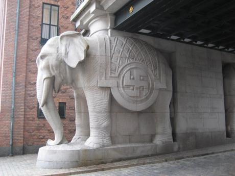 Swastika Elephant Gate, Carlsberg Brewery, Copenhagen