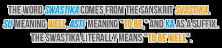 Swastika Sanskrit Etymology