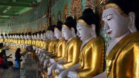 Buddhas in Burma