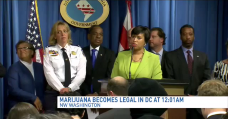 Washington Mayor Muriel Bowser, a Democrat, allowed legalization to begin over the opposition of federal lawmakers, who have constitutional sway over the city.
