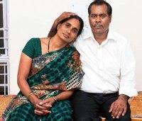 Badrinath Singh & Wife