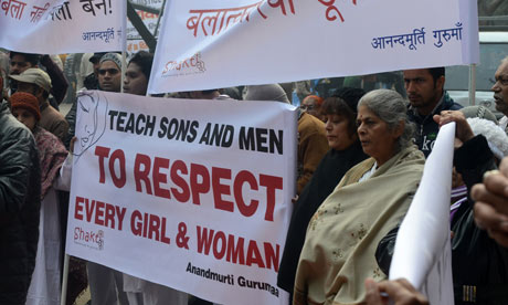 Delhi Rape Protest 2012