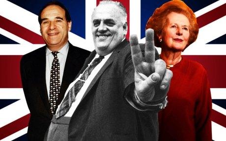 Leon Brittan, Cyril Smith & Margaret Thatcher