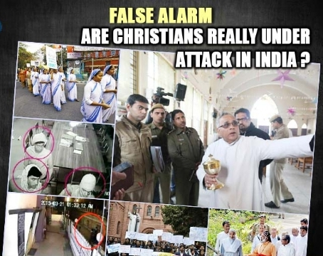 Christians are not under attack in India
