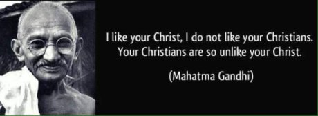 Gandhi's view of Christians