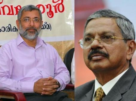Supreme Court Judge Kurian Joseph and Chief Justice of India H.L. Dattu