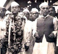Netaji & Nehru