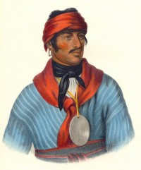 Creek Chief Selocta (or Shelocta) was a Muscogee Creek chief who appealed to President Andrew Jackson to reduce the demands for Creek lands at the signing of the Treaty of Fort Jackson.