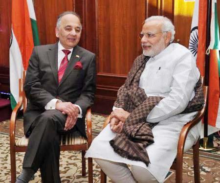 Surya Kumar Bose & Narendra Modi
