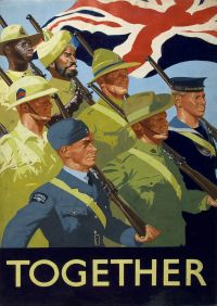 British Empire Servicemen Poster