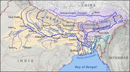 Mouths of the Ganges