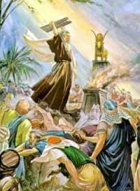Moses and the Golden Calf