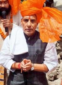India Home Minister Rajnath Singh