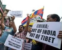 Tibetan demonstration against China