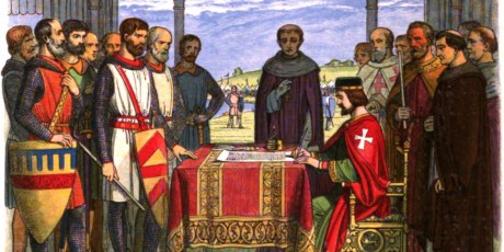 John signs the Great Charter