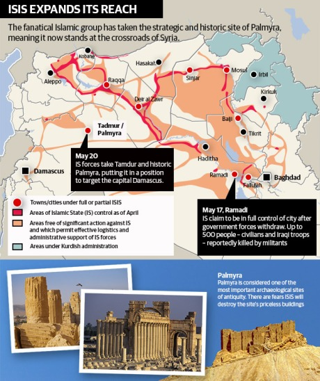 ISIS in Palmyra