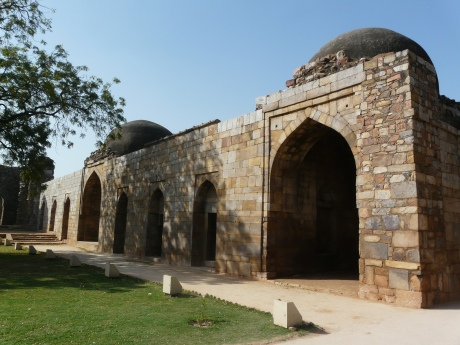 Alauddin Khilji's Madrasa, Qutb complex, built in the early-14th century in Delhi, India.