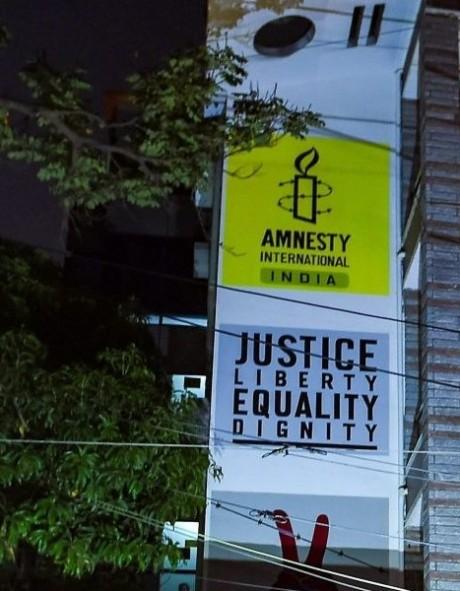 Amnesty International India in Bangalore