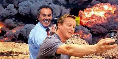 David Cameron & Tony Blair