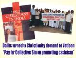 Dalit Christians demand equal rights in Churches