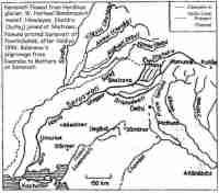 Ghaggar Hakra River Map