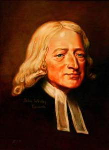 John Wesley, anti-slaver and founder of Methodism.