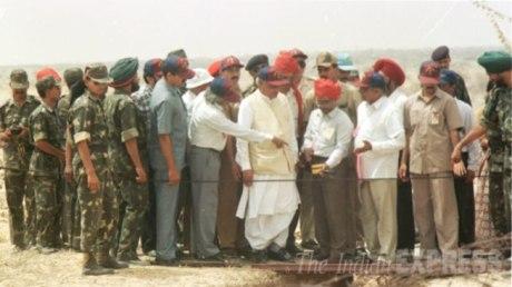 A.P.J. Abdul Kalam at Pokaran