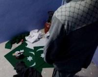 Making Pakistan flags in Sopore, Kashmir
