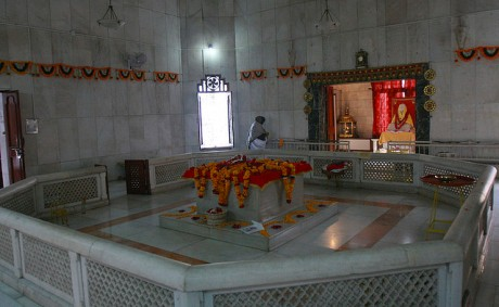 Anandamayi Ma's Samadhi Shrine