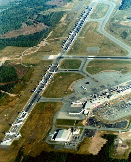 Gander International Airport on 9 September 2001