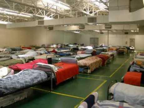 Dormitory at Gander, Newfoundland