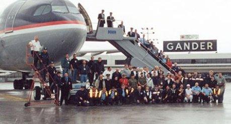 Delta 15 at Gander Airport